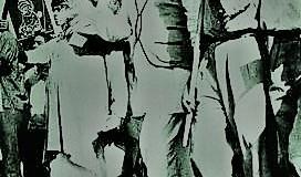 বাংলায় নির্যাতন বঙ্গবন্ধুর নেতৃত্বে ভুখা মিছিল
