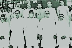 বঙ্গবন্ধু, শেরে বাংলাসহ তৎকালীন যুক্তফ্রন্ট নের্তৃবৃন্দ