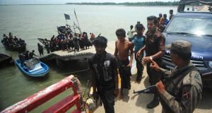 TOPSHOTSRohingya Muslims from Myanmar,
